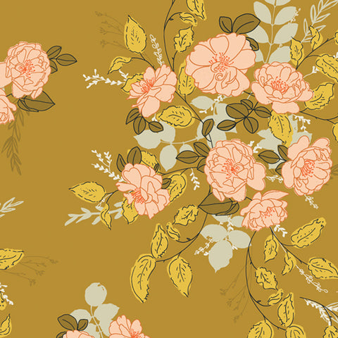 {New Arrival} Art Gallery Fabrics Her & History Lillian's Secret Garden