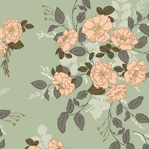 {New Arrival} Art Gallery Fabrics Her & History Marrell's Secret Garden