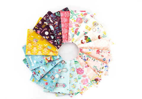 {New Arrival} Riley Blake Beauty & the Beast Fat Quarter Bundle x 18 Fat Quarters