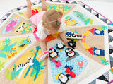Sew Along A Day At The Zoo Interactive Playmat Pattern
