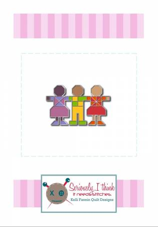 {New Arrival} Kelli Fannin Quilt Designs Love Sweet Love Enamel Pin