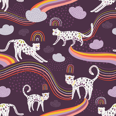 {New Arrival} Art Gallery Kushukuru Rainbow Jaguar