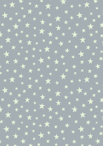 Lewis & Irene Christmas Glow Stars on Grey