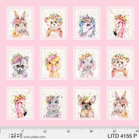 {New Arrival} P &  B Textiles Little Darlings Multi Pink Little Darlings