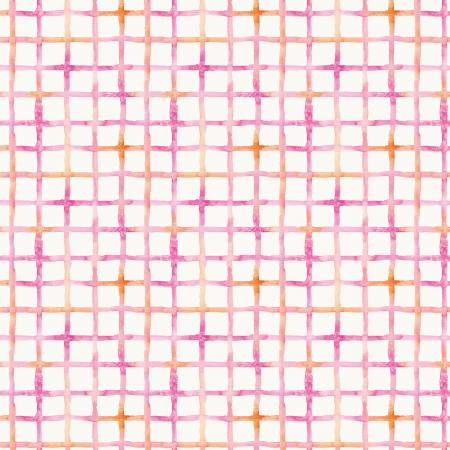 P &  B Textiles Little Darlings Pink Check