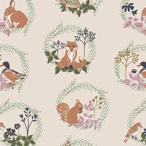 {Pre-Order March/April} Art Gallery Fabrics Lilliput Forest Friends