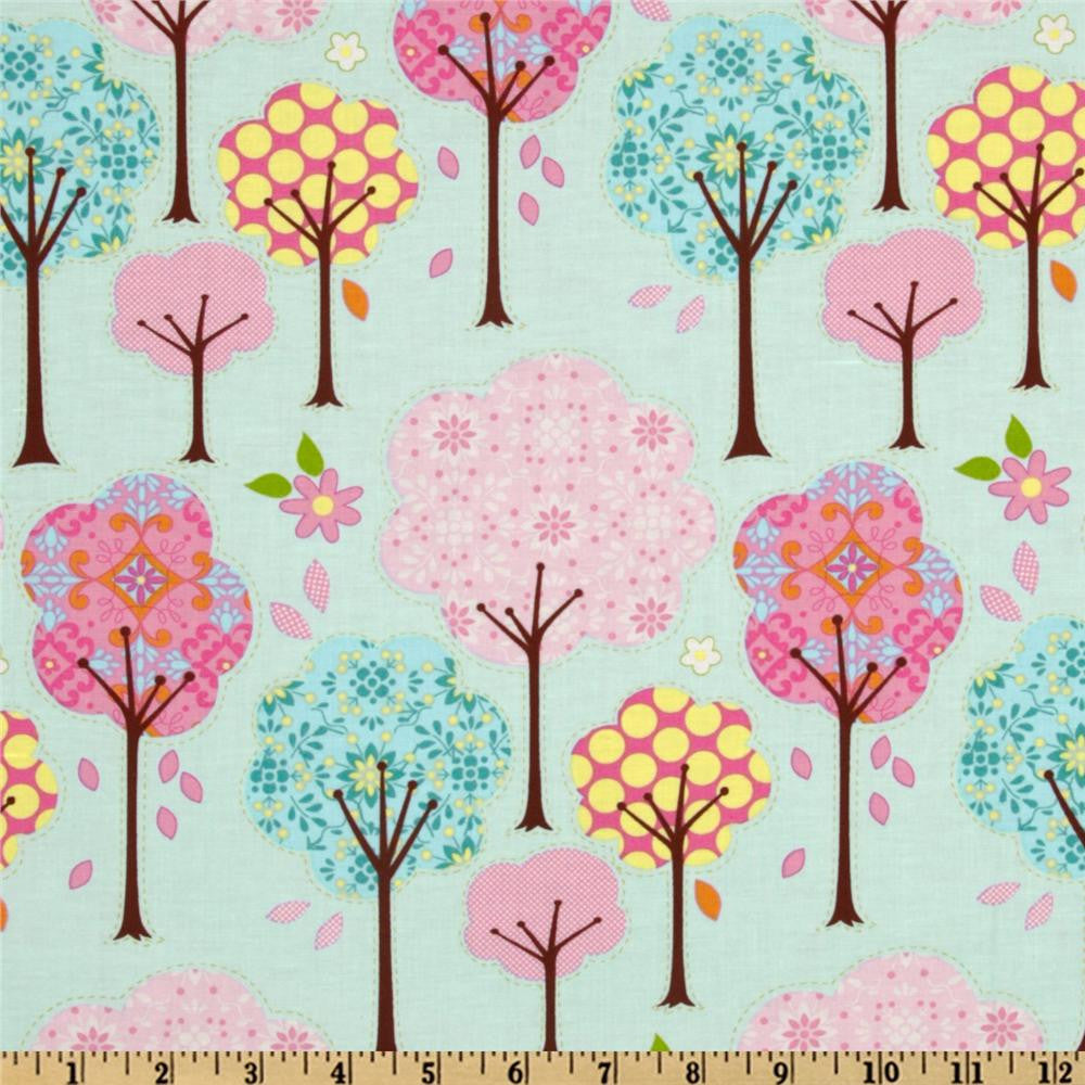 Dena Designs Pretty Little Things Trees in Blue