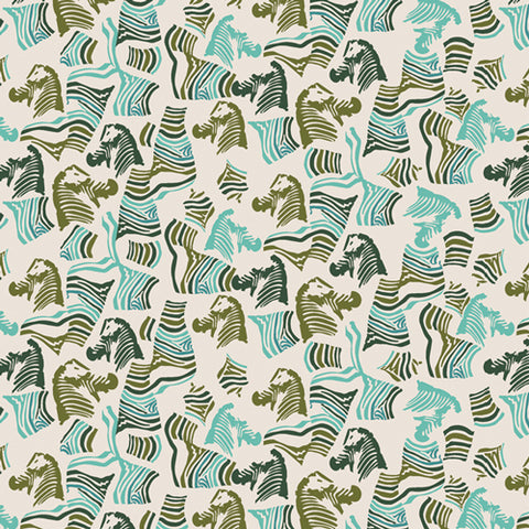{New Arrival} Art Gallery Fabrics Maara Secret Zebra
