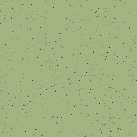 {New Arrival} Maywood Studio Warm Wishes Speckled Solid Medium Green