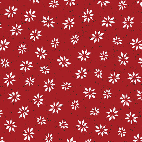 {New Arrival} Maywood Studio Warm Wishes Snowflake Star Red