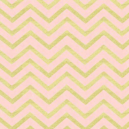 Michael Miller Glitz Celebration Sleek Chevron Blush