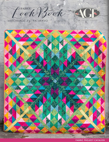 Thoughts Quilt Kit Requirements Featuring Matchmade by Pat Bravo