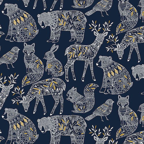 Dashwood Studios Norrland Metallic Gold Navy