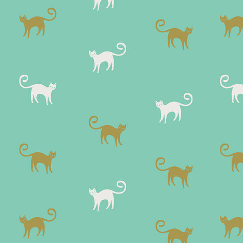 Art Gallery Fabrics Oh, Meow Feline Good