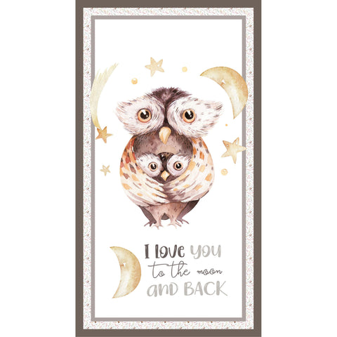 {New Arrival} Devonstone A Mother's Love Owl Panel