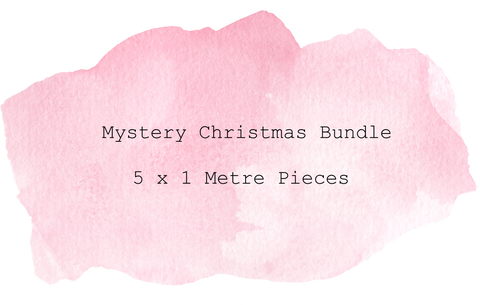 Christmas Mystery Bundle 5 Metres 5 x 1 Metre Pieces
