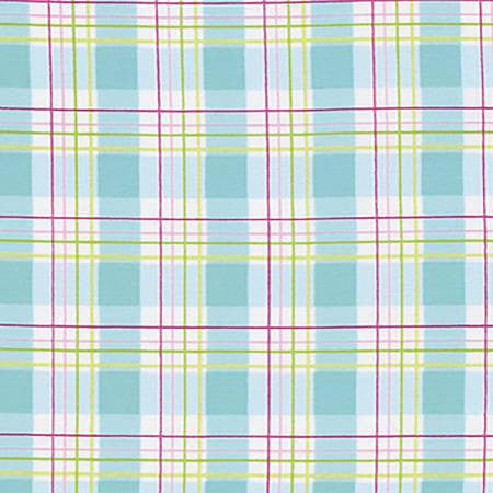 Tanya Whelan Zoey's Garden Plaid Blue