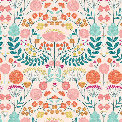 {New Arrival} Dashwood Studios Rivelin Valley Flowers Pink