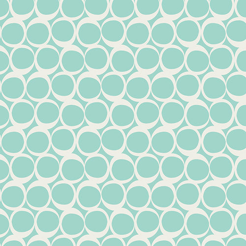 Art Gallery Round Elements Seafoam Swirls