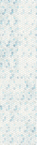 {New Arrival} Hoffman Fabrics Backsplash Digital Ice Honeycomb Ombre Digital Panel