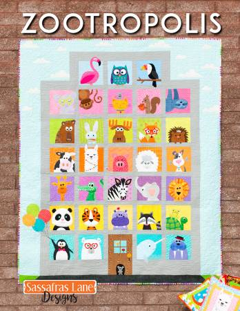 Sassafras Lane Designs Zootropolis Book