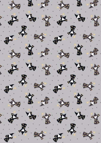 Lewis & Irene Small Things Wizards in Grey- Gold Metallic