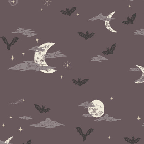 {New Arrival} Art Gallery Fabrics Spooky 'n Sweet Batty Over You