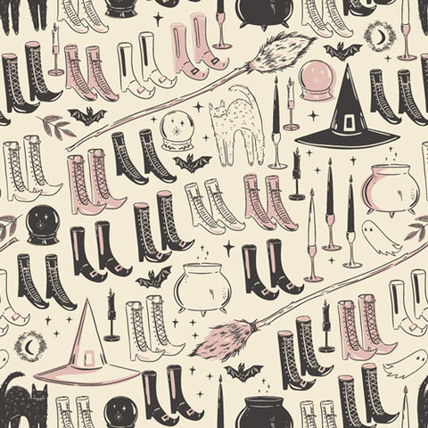 {New Arrival} Art Gallery Fabrics Spooky 'n Sweet Witch's Wardrobe