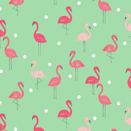 Dear Stella KNIT Paradise Flamingoes