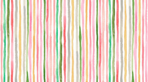Dear Stella August Wren Collection Spice Things Up Washed Stripe Multi