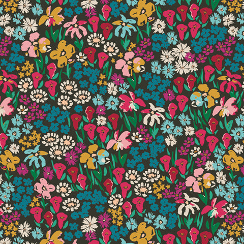 {New Arrival} Art Gallery Fabrics The Flower Society Bloomkind Meadow
