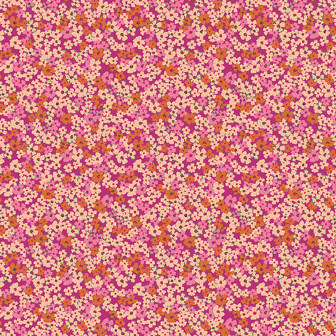 {New Arrival} Art Gallery Fabrics The Flower Society Retro Prairie Blush