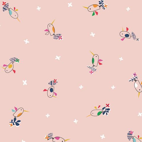Dashwood Studios Club Tropicana Birds Pink