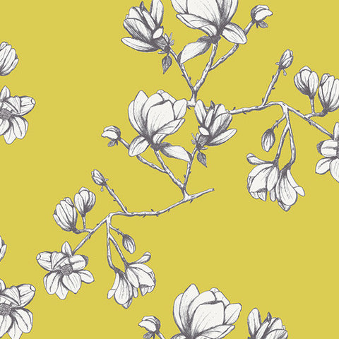 Art Gallery Wild Bloom Magnolia Study Zest