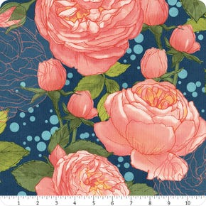 Moda Abby Rose RAYON Main Floral Night