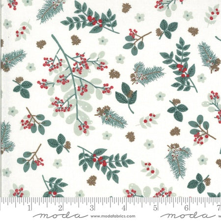 {Pre-Order Sept/Oct} Moda Kate & Bird Juniper Winter Foliage Snow