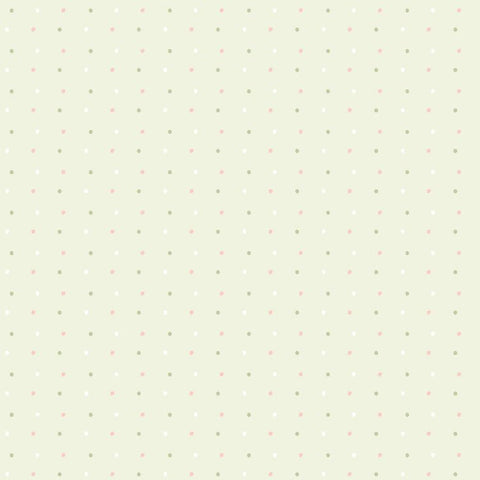 Bambini Newborn Light Green Dots