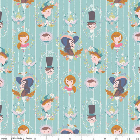 Riley Blake Neverland Darling Wall Mint
