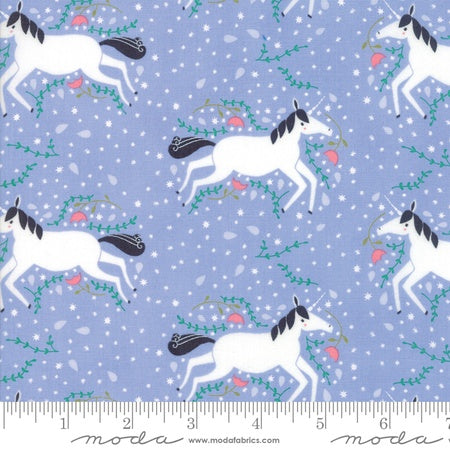 Moda Gingiber Enchanted Unicorns Lavender