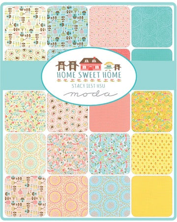 Moda Home Sweet Home Stacy Iest Hsu Charm Pack
