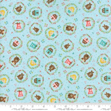 Moda Home Sweet Home Stacy Iest Hsu Goldies Story Aqua