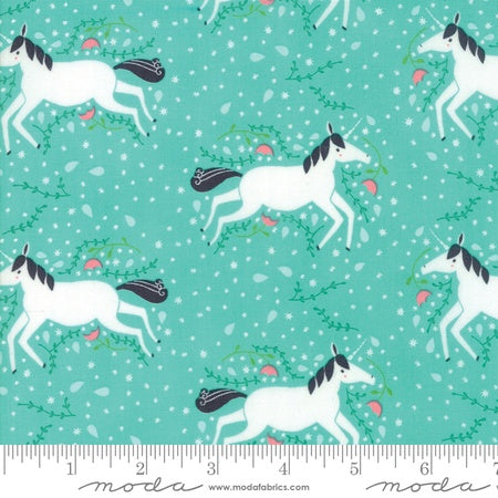 Moda Gingiber Enchanted Unicorns Misty