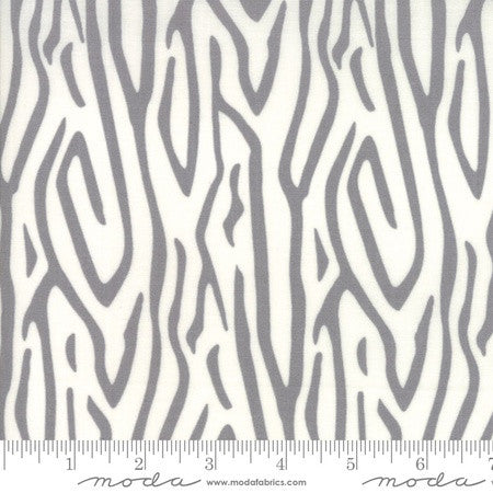 Moda Savannah Zebra Stripe Pewter