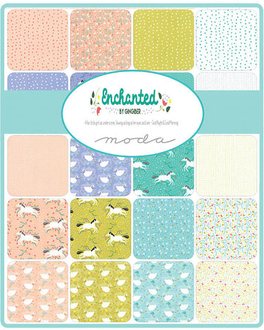 Moda Gingiber Enchanted Fat Quarter Bundle x 20 FQ + 1 Panel
