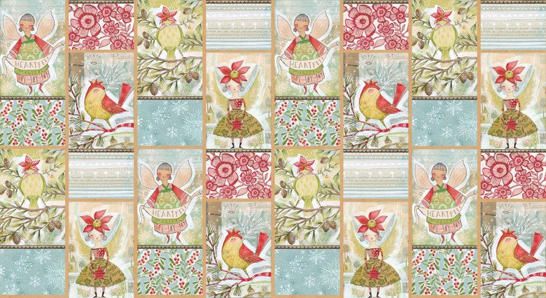 Blend Cori Dantini Merry Stitches Panel