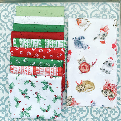 {New Arrival} Maywood Fat Quarter Bundles x 11 Pieces + 1 Panel