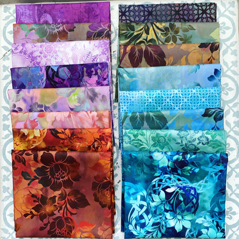 {New Arrival} In the Beginning Diaphanous Fat Quarter Bundles x 16 Pieces