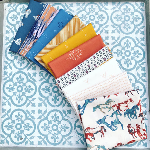 {New Arrival} Art Gallery Curated Bundles Set 1 Fat Quarter Bundles x 10 Pieces