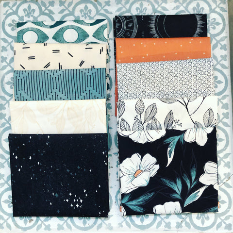 {New Arrival} Art Gallery Luna & Laurel Fat Quarter Bundles x 10 Pieces