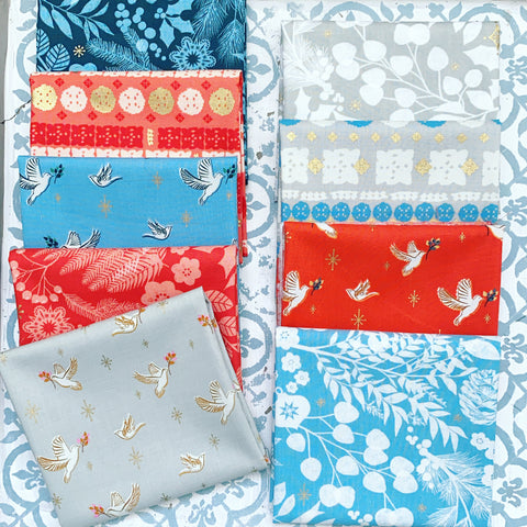 {New Arrival} Moda Ruby Star Candlelight Fat Quarter Bundles x 9 Fat Quarters